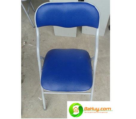 GNV01 - Ghế ghấp chân sắt lưng ngắn