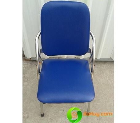 Ghế ghấp chân inox lưng dài - GNV03