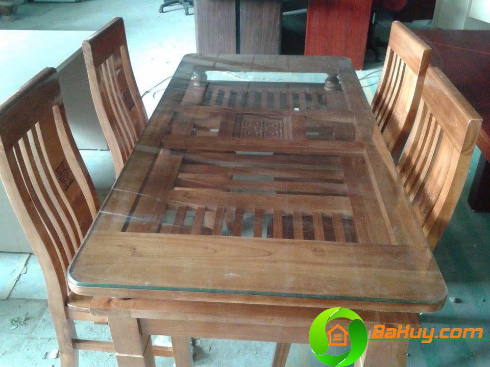 BA01 - Bộ bàn ghế ăn gia đình