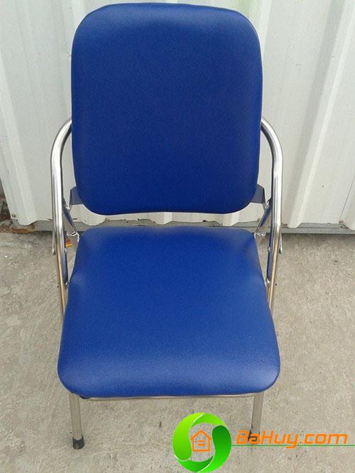 GNV03 - Ghế ghấp chân inox lưng dài
