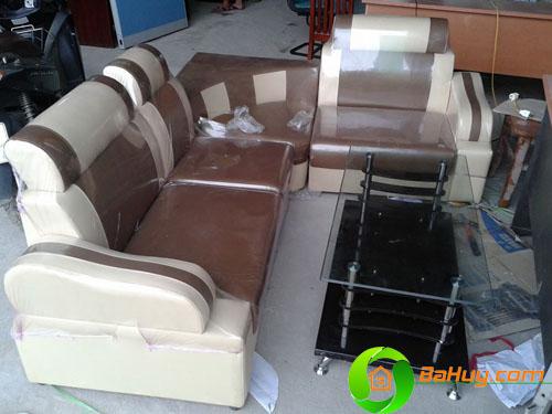 SFD01 - Sofa nhật màu nâu sữa