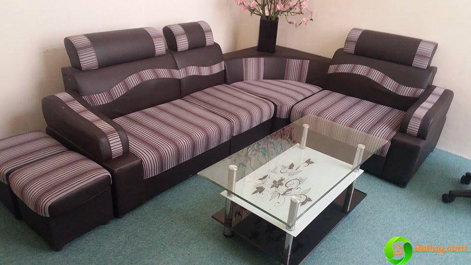 SFN01 - Sofa góc nỉ