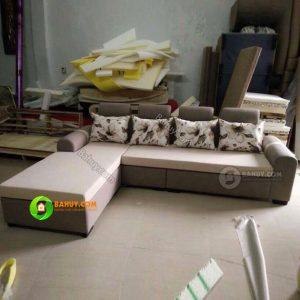 Sofa nỉ hoa giá cực tốt