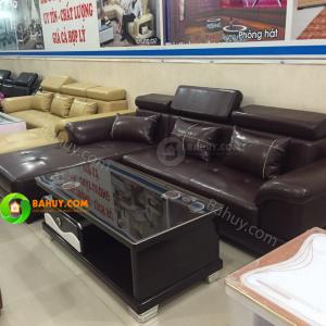 Sofa da xịn mới 98% giá cực tốt