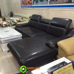 Thanh lý sofa da mới 98%