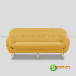 Sofa băng nỉ màu vàng 1m6 SFB-N-11
